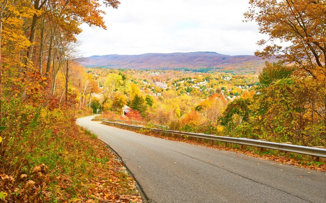 rv routes for fall foliage